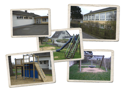 Collage des Kindergarten